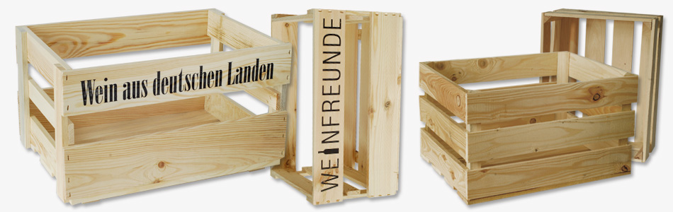 holzkisten box4wine weinkisten aus kiefernholz. Black Bedroom Furniture Sets. Home Design Ideas