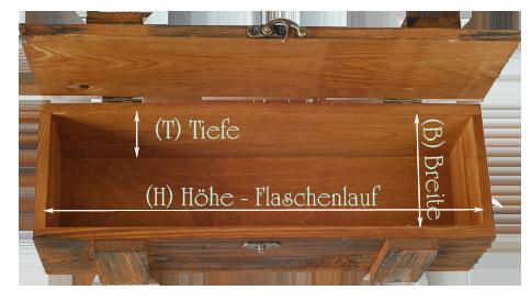 Holzkisten - BOX4WINE - Weinkisten aus Kiefernholz